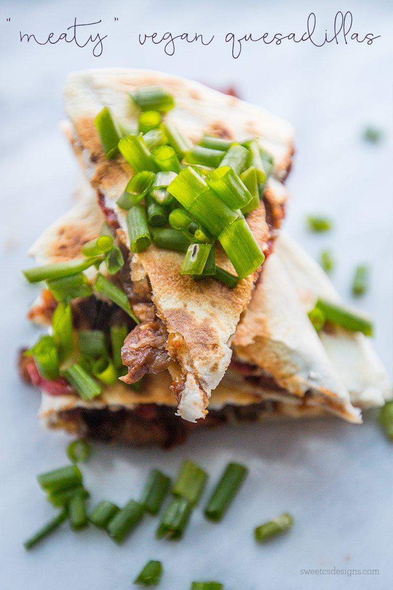 Meaty-Vegan-Quesadillas