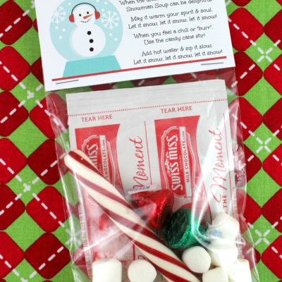 Snowman Soup Gift Recipe