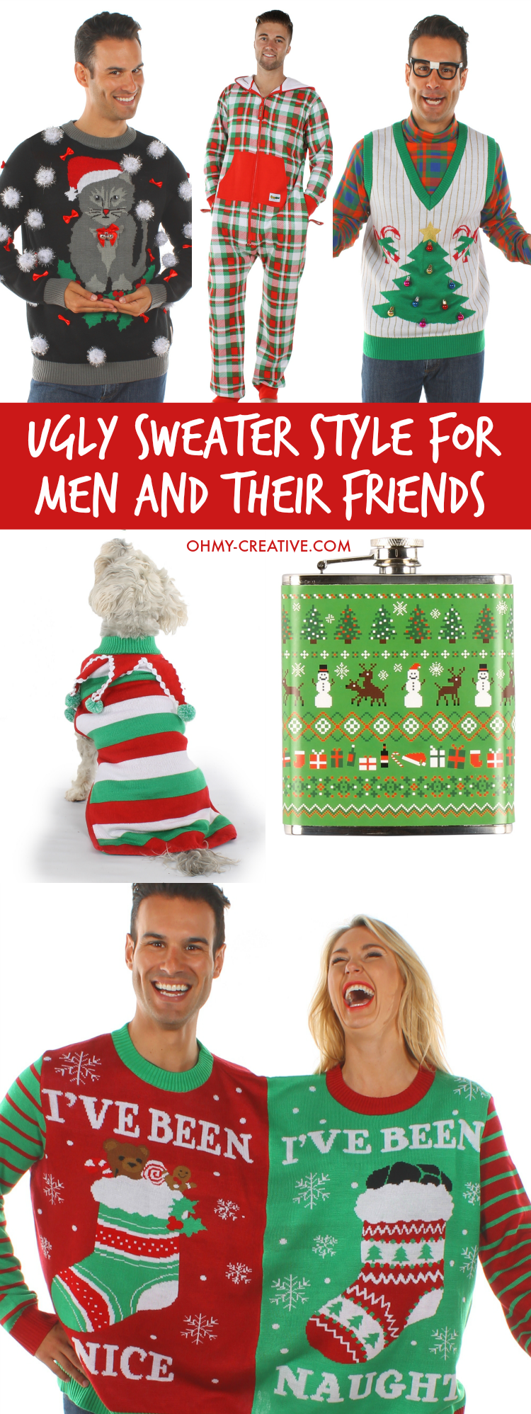 Ideas for ugly christmas sweater party