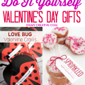 Valentine's Day is a great holiday to make something handmade. Find here great Do It Yourself Valentine's Day Gifts and Free Printables Too! | OHMY-CREATIVE.COM