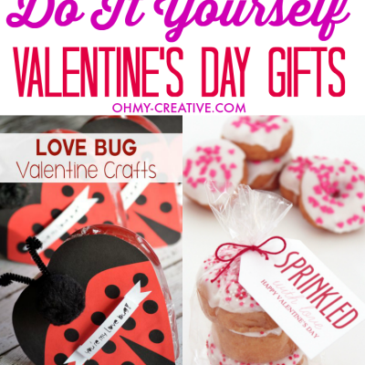 Do It Yourself Valentine's Day Gifts