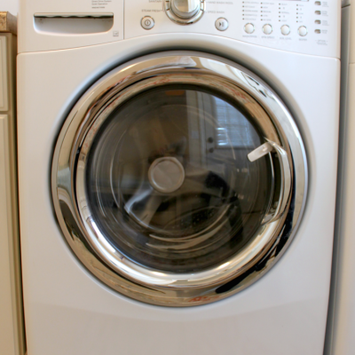 how to clean front load washer with essential oils