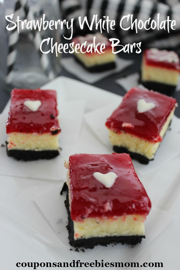 Strawberry cheesecake chocolate bar