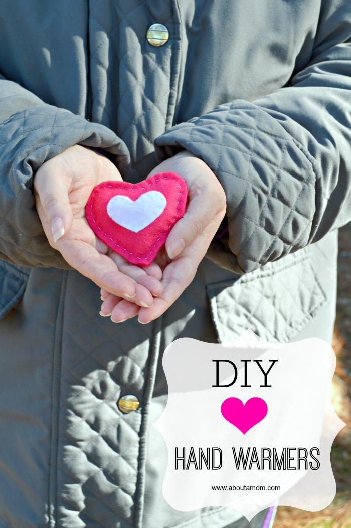 Valentine Craft DIY Heart Hand Warmers