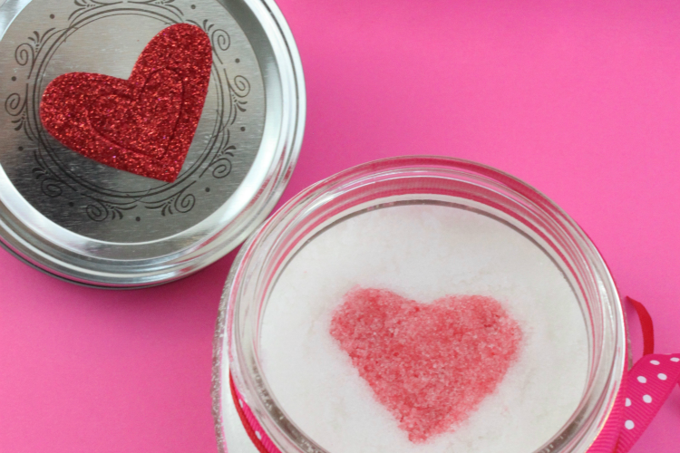 Heart Sugar Scrub Recipe