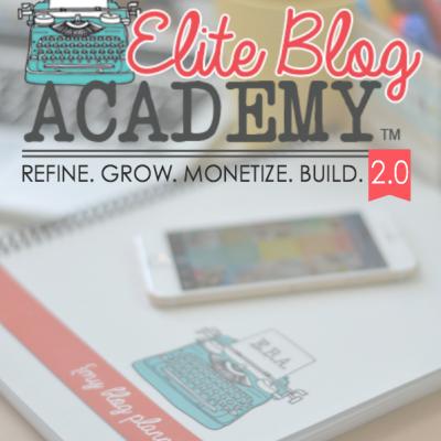 Elite Blog Academy Is Open