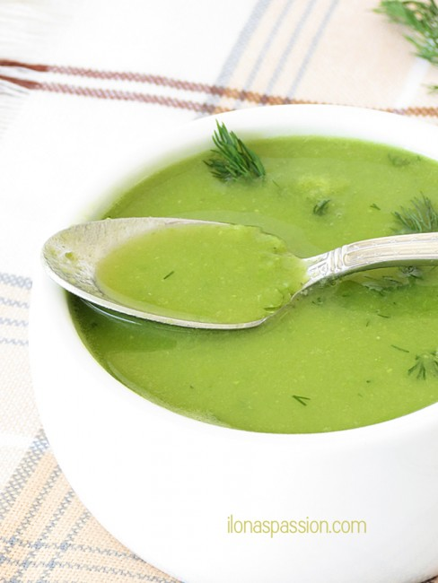 Green Pea Soup Recipe