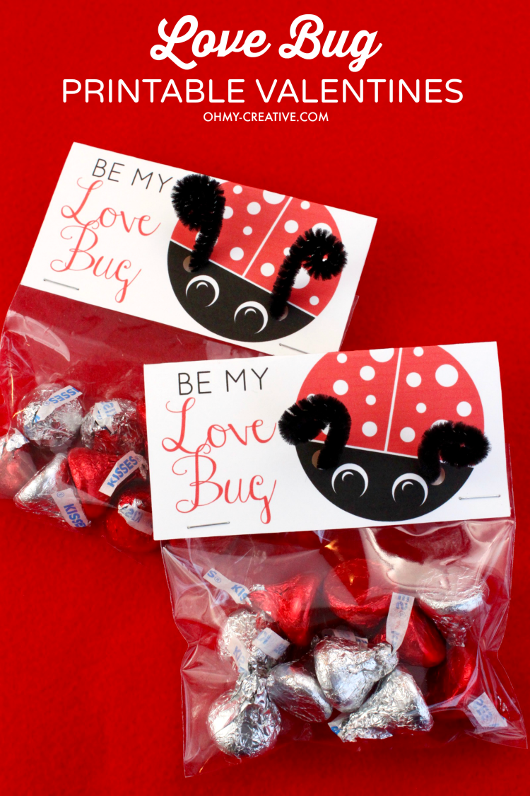 love bug printable valentine u0027s day cards oh my creative