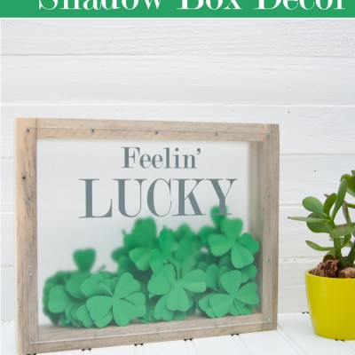 St. Patrick's Day Shadow Box