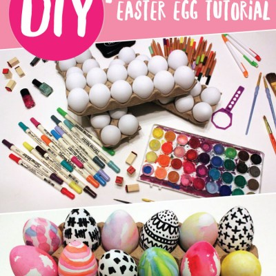 DIY Painted Easter Egg Tutorial