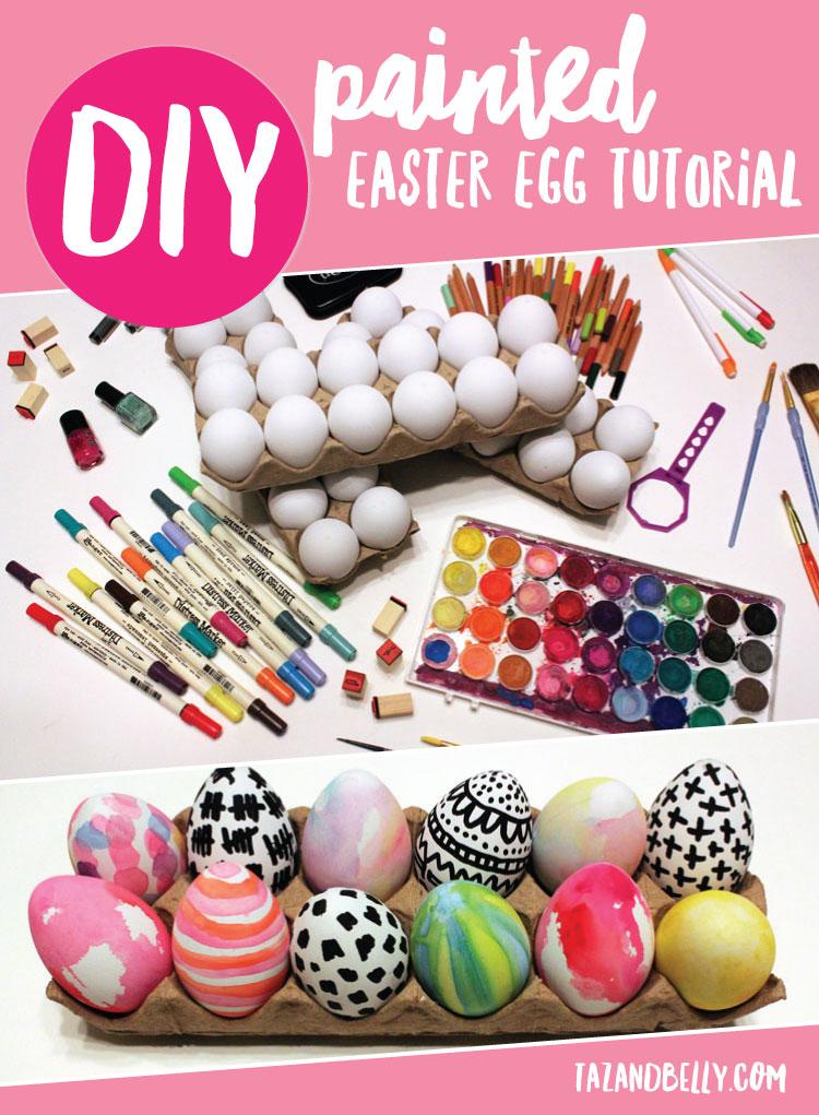 DIY Painted Easter Egg Tutorial