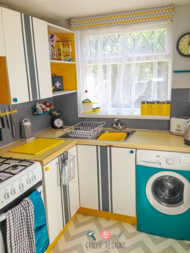 How to do a DIY Cheap Kitchen Remodel