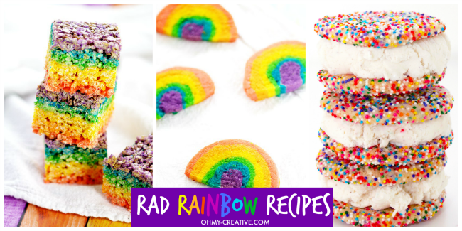 Creative couponing rainbow foods