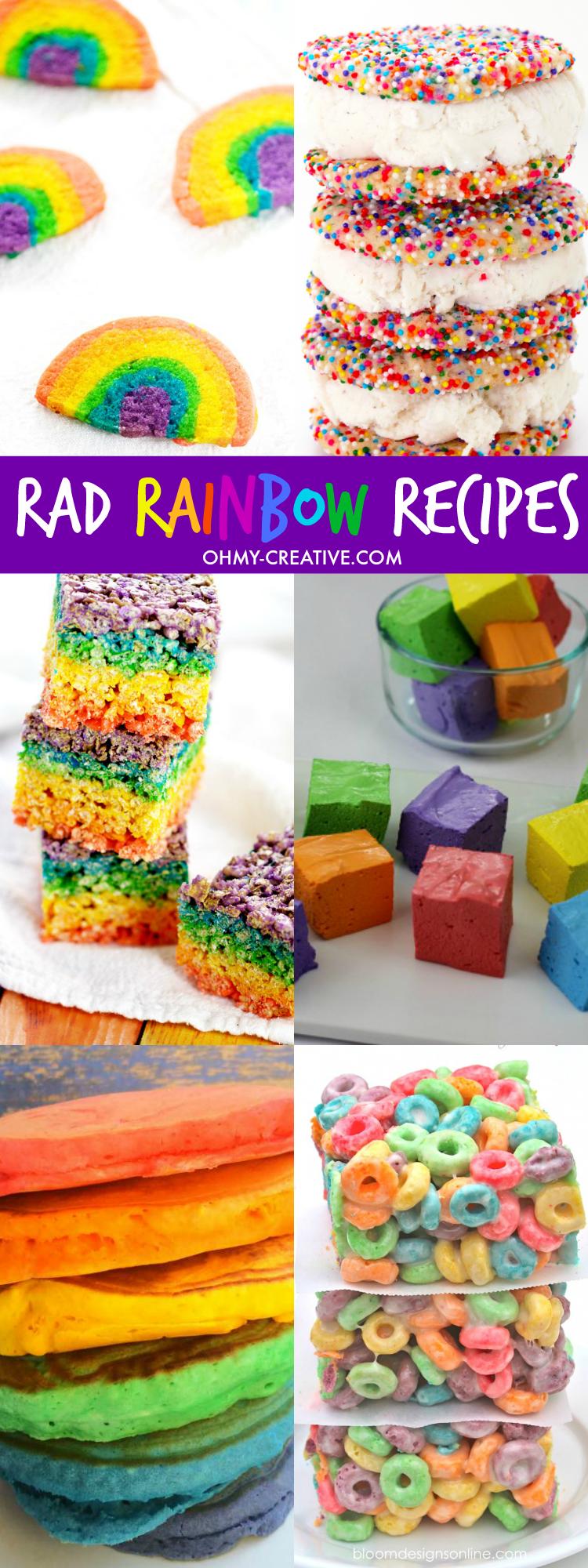Rad Rainbow Recipes
