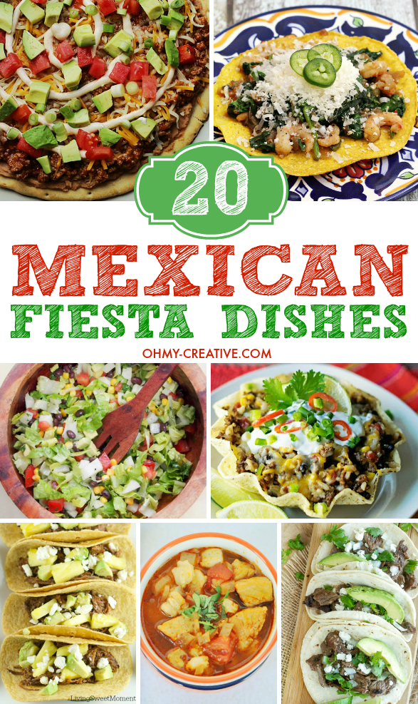 2O Mexican Food Recipes Perfect For Any Fiesta Or Cinco De Mayo Great