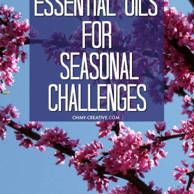 How To Use Essential Oils For Seasonal Challenges