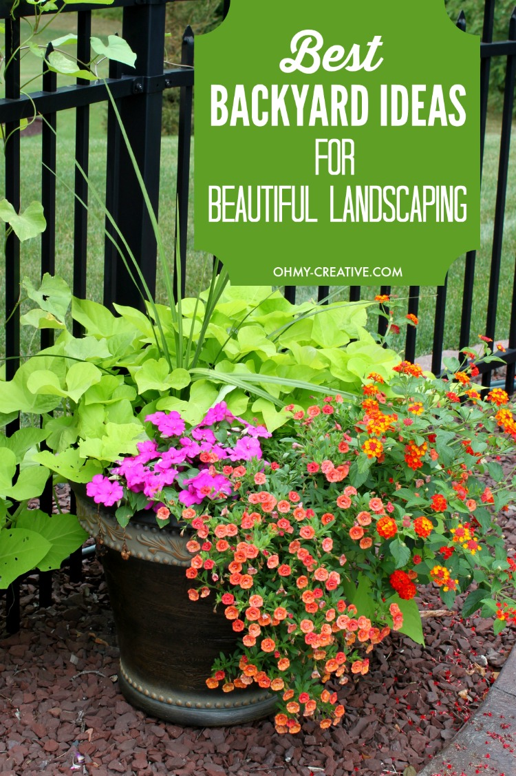 Best Backyard Ideas For Landscaping - Oh My Creative on Best Backyard Landscaping id=69749
