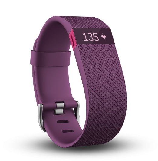 Fitbit Charge HR Wireless Activity Wristband - Don't know what to get for mom this Mother's Day? Here are a few Pretty Gifts For Mom on Mother's Day she will love! | OHMY-CREATIVE.COM