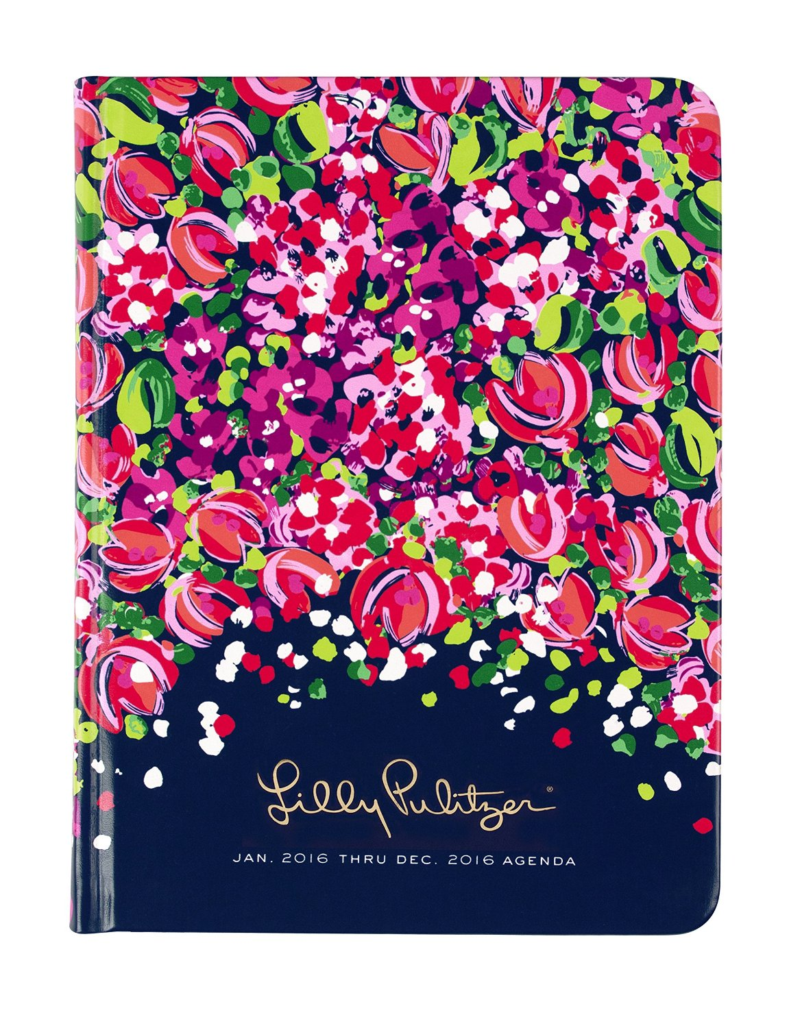 Lilly Pulitzer 12 Month Agenda Wild Confetti - Senior Graduation Gifts for Her | OHMY-CREATIVE.COM