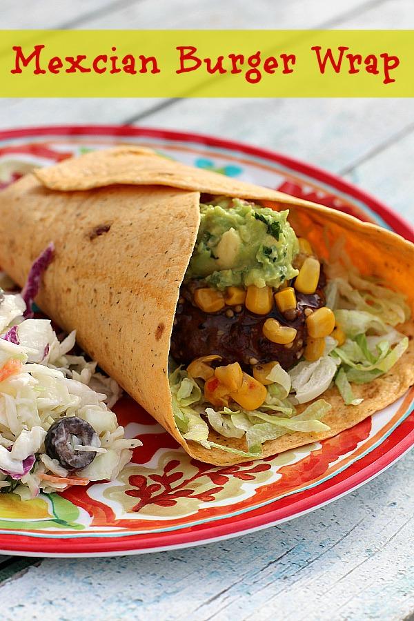 Mexican Burger Wrap