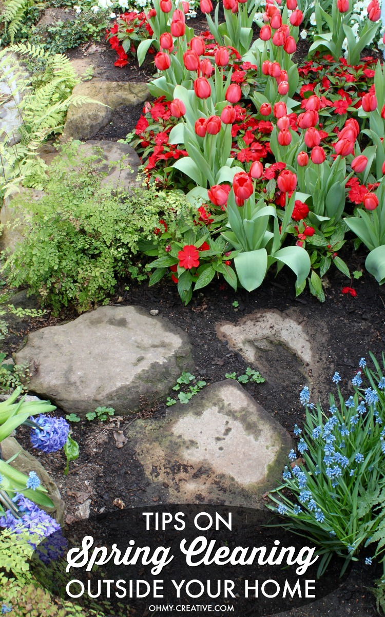 Spring Landscaping Tips best backyard ideas for landscaping - oh my creative