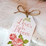 Bridal Shower Printable Gift Tag