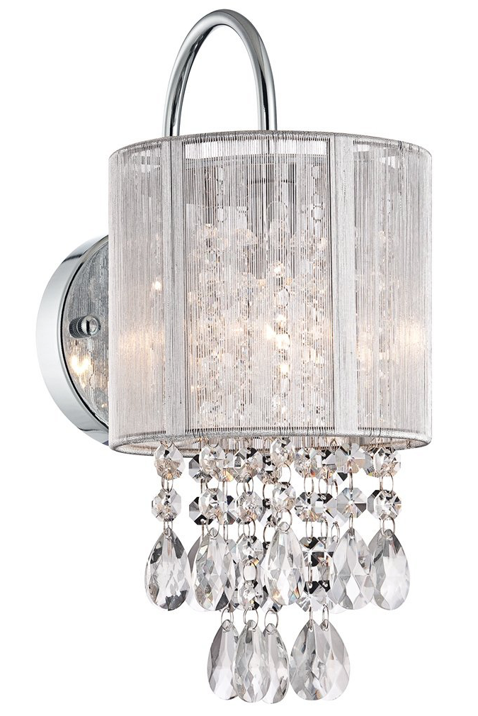 Bathroom Chandelier Sconces 10 stunning crystal chandelier lights - oh my creative