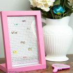 Easy DIY Jewelry Display for Earrings