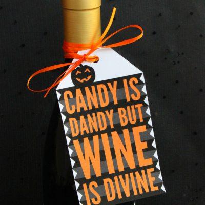 Halloween Gift Tag Free Printable