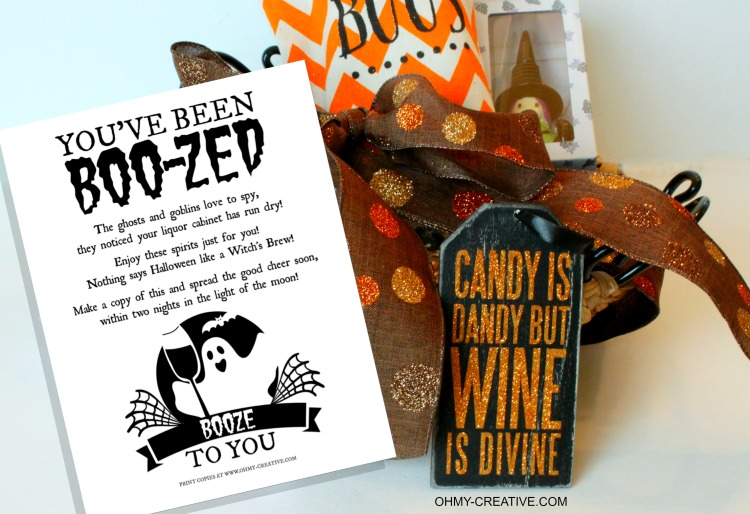 You Ve Been Boo Zed Free Printable Oh My Creative