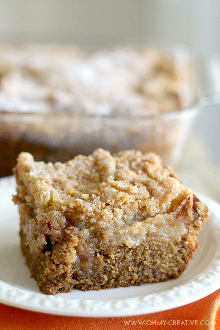 Apple Cake With Crumble Topping Recipe