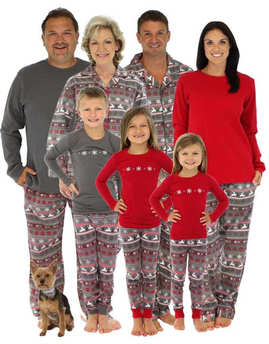 Every pair of Hanna Andersson's matching family pajama sets are made with care out of the coziest cotton you've ever felt. Everyone in your family will love wearing their matching pajamas! Get your pair of the best pajamas ever and start your new family tradition.