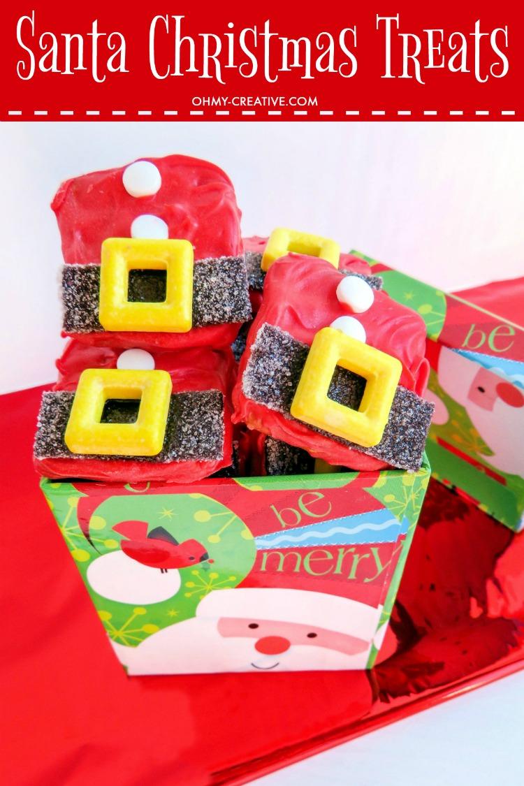 Santa Suit Christmas Treats