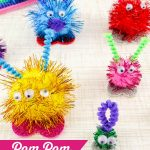 How To Make Pom Pom Monsters