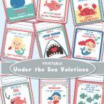 Valentine Under The Sea Printables