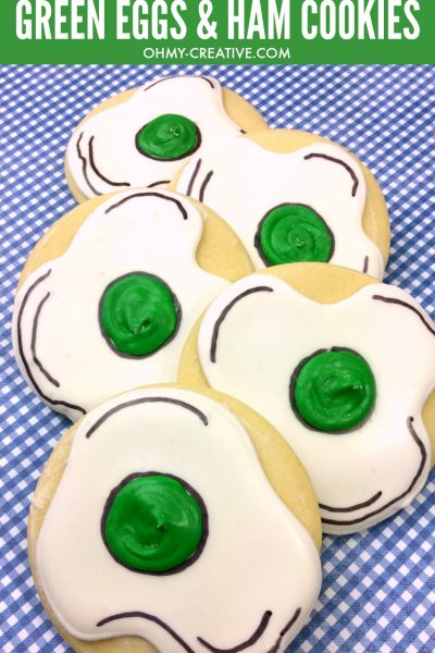 Dr. Seuss Green Eggs And Ham Cookies