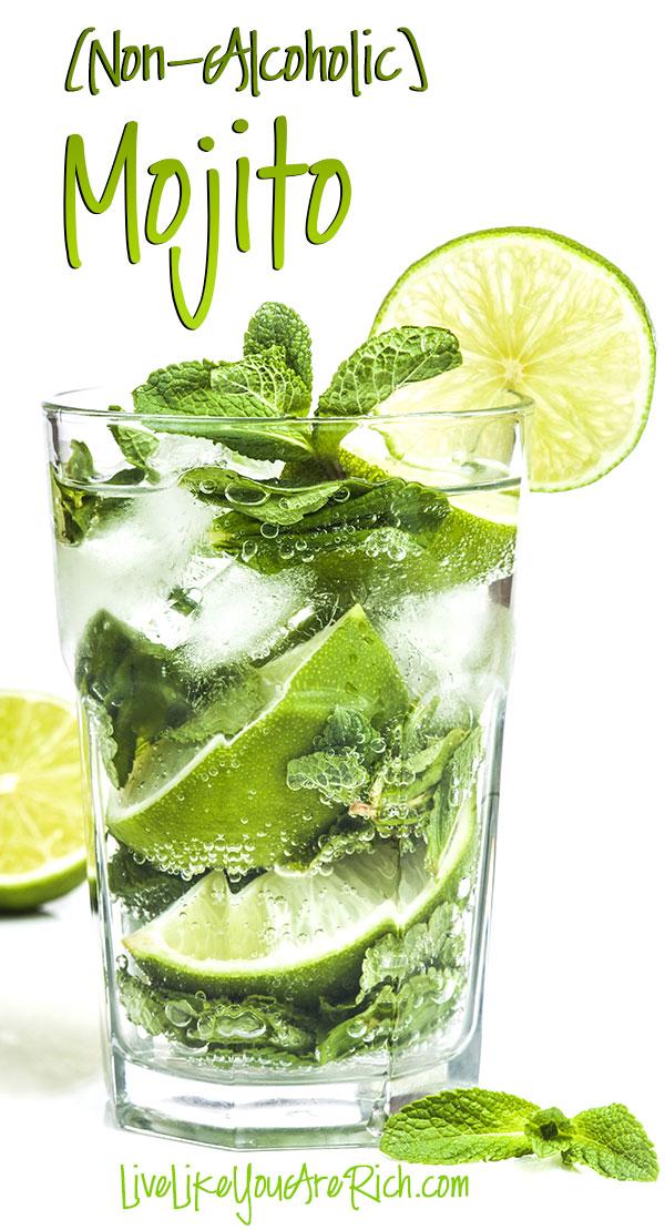 Non-Alcoholic Mojito | 30 Graduation Party Food Ideas | OHMY-CREATIVE.COM