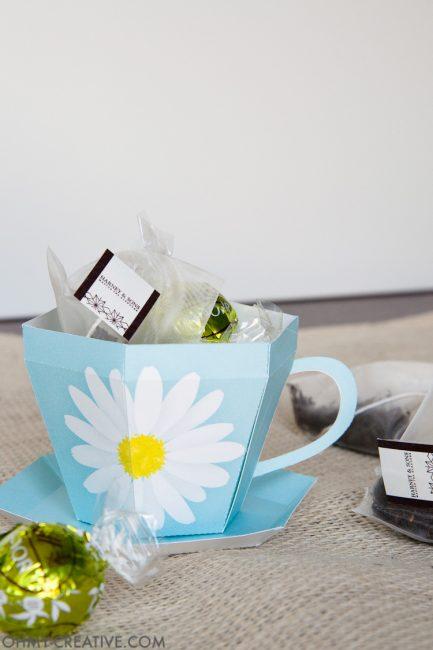 Tea Cup Template Printable | Tea Cup Gift