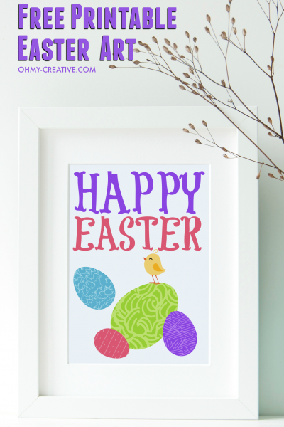 Adorable Easter Free Printable Art