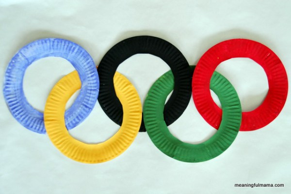 Olympic Paper Plate Rings Craft   20 PAPER PLATE CRAFTS FOR KIDS   OHMY-CREATIVE.COM   kids crafts   paper plates   preschool crafts   kindergarten crafts   school kids crafts   Under the sea crafts   paper plate animal crafts   rainbow craft   olympics craft   watermelon craft   monster craft   paper craft