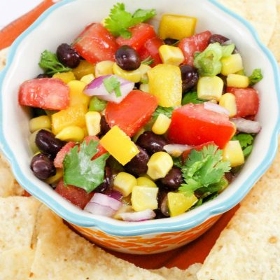 Fresh Salsa Recipe | Rainbow Salsa