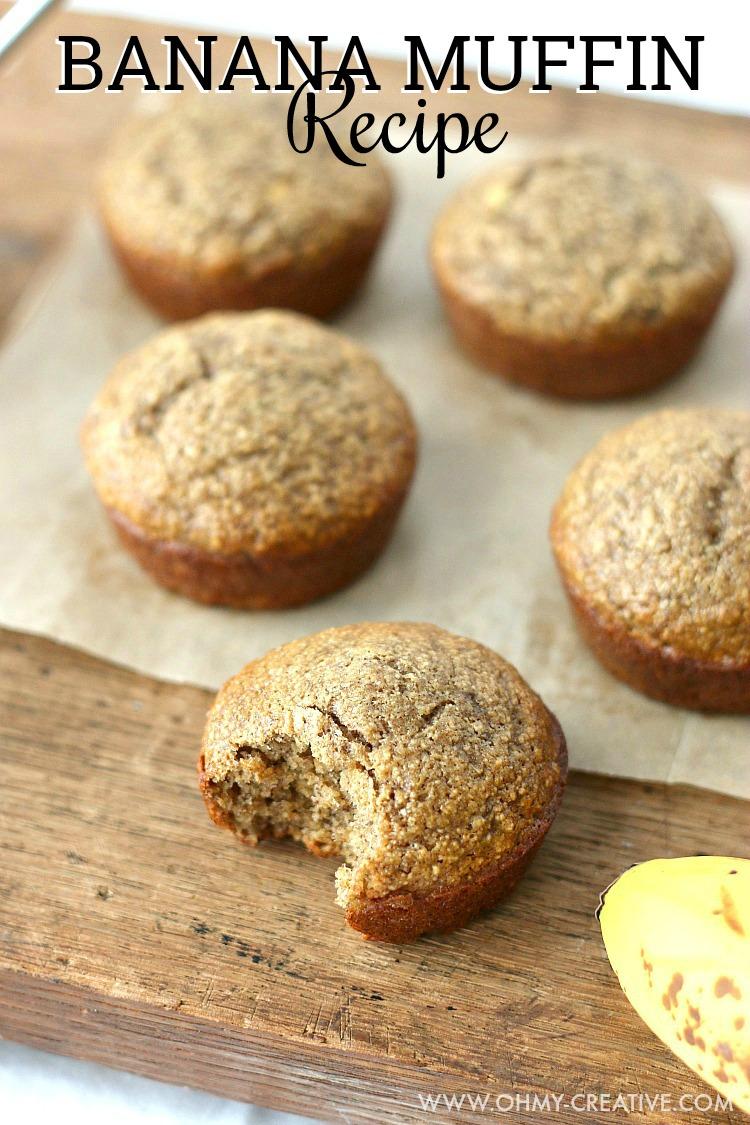 Breakfast Banana Muffin Recipe