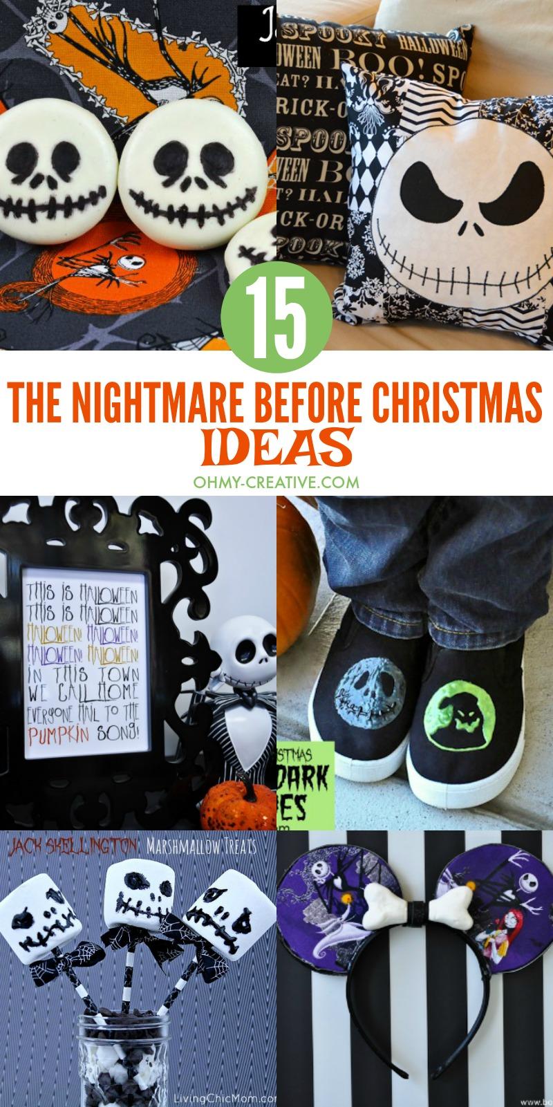 15 Fun The Nightmare Before Christmas Ideas