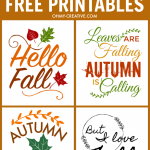 Fall Quotes Free Printables For Autumn
