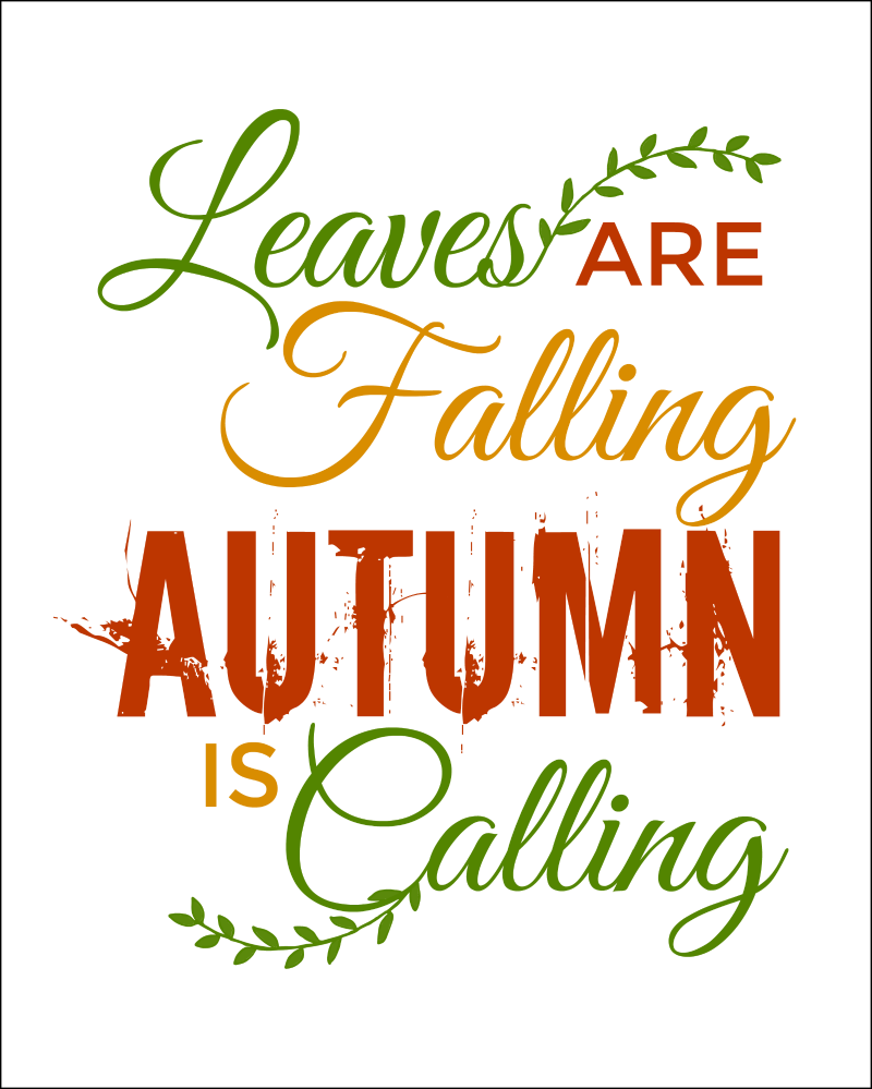 Fall Quote Free Printables perfect for Fall Decorating! OHMY-CREATIVE.COM | Pumpkin Printable | Autumn Printables | Fall Sayings Printables | Autumn Sayings | Fall Season quotes | Fall Signs | Fall Captions | Fall Decor Ideas | Give Thanks Printable | Harvest | Fall Leaves