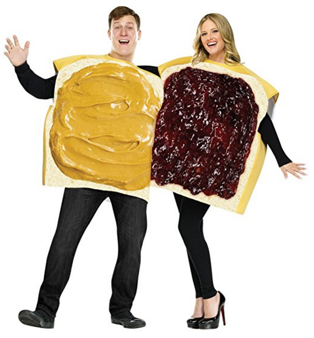 Peanut Butter And Jelly Set | 50 Couples Halloween Costume Ideas