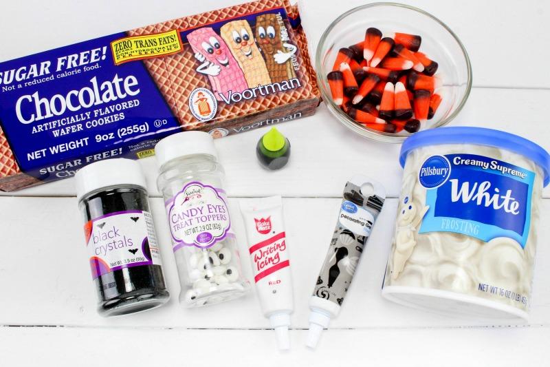 ingredients Frankenstein Cookies For Halloween