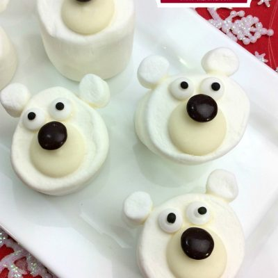 Marshmallow Polar Bear Craft Treats