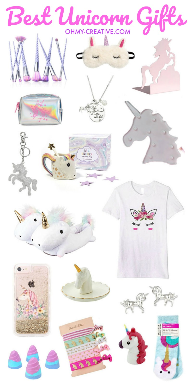 Best Unicorn Gifts Oh My Creative