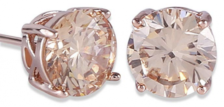 These Rose Gold Crystal Stud Earring Jewelry are a perfect gift for all your female friends!